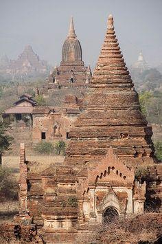 Bagan view from Tayok Pyie Pagoda, Myanmar