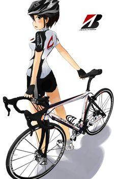 Manga Girls Bikes | cute_anime_girls_on_bikes_027