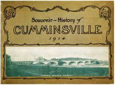 """""""History of Cumminsville, 1792-1914."""" Follow the link for more photos and information about the Northside neighborhood."""