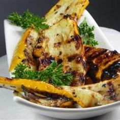 Grilled Yellow Squash