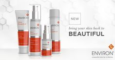 Beautifully radiant and healthy-looking skin has the right levels of vitamin A. Part of Environ's industry-leading Vitamin STEP-UP SYSTEM™, the new Skin Essential Range contains a combination of vitamins A, C and E, powerful antioxidants and other essential ingredients to assist in revealing the skin's natural beauty. New Skin, Your Skin, Cyprus, Natural Beauty, Eyeliner, Vitamins, Range, Skin Care, Healthy