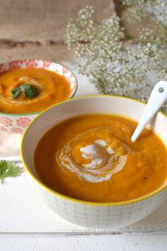 Veggie Recipes, Soup Recipes, Vegetarian Recipes, Healthy Recipes, Recipies, Confort Food, Pumpkin Soup, Recipes From Heaven, Winter Food