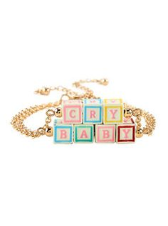 HotTopic Melanie Martinez Cry Baby Blocks Bracelet Set Found on my new favorite app Dote Shopping #DoteApp #Shopping