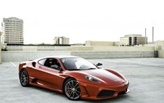 Ferrari F430, side view, sports