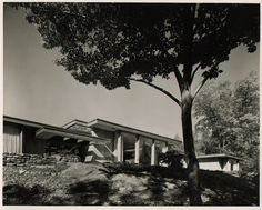 landis gores house, new canaan, demolished