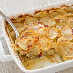 Potato Casserole with Bacon and Caramelized Onion Recipe - America's Test Kitchen