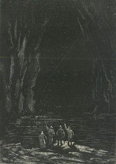 Étang ou lac, dont les rives pittoresques…
