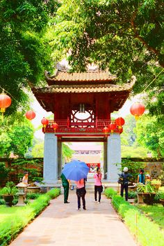 Văn Miếu - Quốc Tử Giám - Temple of Literature, Hanoi, Vietnam