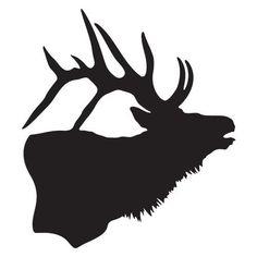 Elk Decal