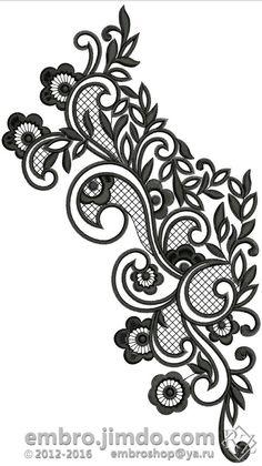 Вышивка на платье. Embroidery- Neck line.
