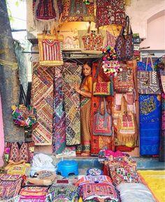 Janpath market , New Delhi