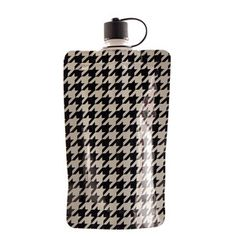 Houndstooth 3 Pack disposable flask!