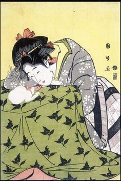 Japonism style is especially inspiring because of the great patterns and colour combinations. And the beautiful sketching.