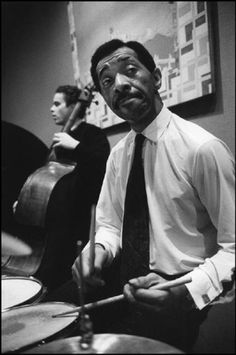 The Great Philly Joe Jones So-called Jazz speaks for life. The Blues tell the story of life's difficulties, and if you think for a moment, you will realize that they take the hardest realities of life and put them into music, only to come out with some new hope or sense of triumph. This is triumphant music. Modern so-called jazz has continued in this tradition, singing the songs of a more complicated urban existence.