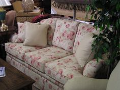 Nice Flowered Sofa   Google Search