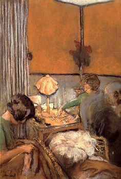 Edouard Vuillard / A single card game