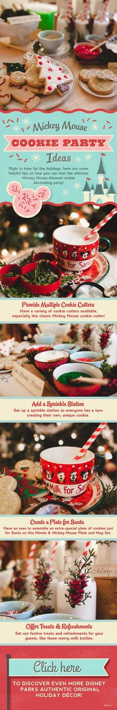 Holiday How-To: Throw A 'Disney' Cookie Decorating Party