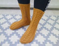 Lace socks for the fall