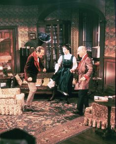 Audrey Hepburn, Rex Harrison, and Wilfrid Hyde-White in My Fair Lady Mini Library, Tomorrow Is Another Day, Cecil Beaton, I Believe In Pink, Woman Movie, My Fair Lady, Event Photos, Happy Girls, Audrey Hepburn