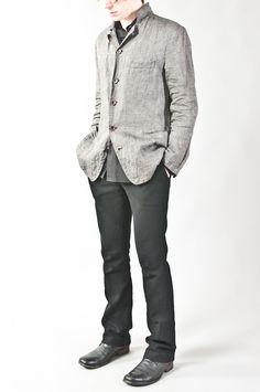 light linen jacket — re. porter