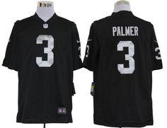 Palmer Game Jersey: Nike Game Nike NFL #3 Oakland Raiders Jersey In Black