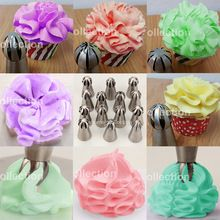 14 Styles Sphere Ball Shape Cream Stainless Steel Russian Icing Piping Nozzle Pastry Cupcake Tips Bicos De Confeitar-in Dessert Decorators from Home Piping Icing, Piping Tips, Cake Icing, Russian Icing Tips, Russian Cakes, Cake Decorating Techniques, Cake Decorating Tips, Baking Cupcakes, Cupcake Cakes