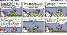 "Pearls Before Swine"". Oh gosh, I love the crocs :D lol |Humor||Funny comic strips||Sesame Street Funny|"