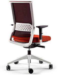 Silla de oficina con asiento tapizado en tejido técnico Stay Actiu: http://www.asturalba.com/mobiliario/sillas/stay/stay.htm