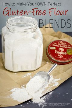 How to Make a Perfect Gluten-Free Flour Blend - If you want to  bake gluten free cookies, cakes, muffins and breads that taste delicious, you must mix the best blend of gluten-free flours.
