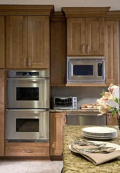 Beautiful Double Ovens, Microwave, Toaster Oven, Warming Drawer