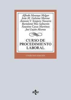 Curso de procedimiento laboral / Alfredo Montoya Melgar ... [et al.]