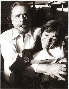 """Bukowski e Sarah - Namorada muito citada no livro Hollywood. """"Ela com certeza me daria 10 anos a mais, só não sabia se era bom ou ruim."""""""