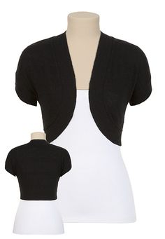 Cropped Knit Bolero available at #Maurices