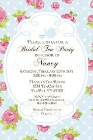 Tea Party Invitation Template  High Tea Party Invitations Free