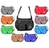 OBC Unisex Erw. Damen & Kinder Tasche Stofftasche Schultertasche Freizeit Shopper CrossOver Umhängetasche: Leichte City Tasche für…