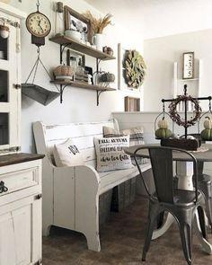 Cool Farmhouse Living Room Decor Ideas 17