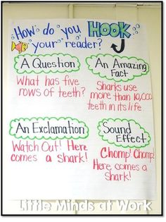 30 Awesome Anchor Charts to Spice Up Your Classroom – Bored Teachers Expository Writing, Informational Writing, Narrative Writing, Informative Writing, Paragraph Writing, Nonfiction, Fiction Writing, Writing Lessons, Teaching Writing