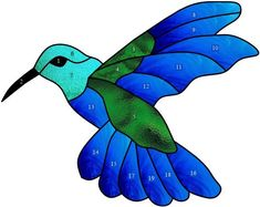 Stained Glass Patterns Free, Stained Glass Birds, Stained Glass Suncatchers, Stained Glass Designs, Stained Glass Projects, Mosaic Birds, Mosaic Art, Mosaic Glass, Bird Stencil