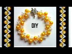 (21) How to make a simple bracelet. Gift ideas for your love ones. - YouTube