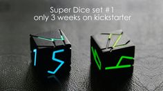 https://www.kickstarter.com/projects/901436411/super-dice-set-1 #dice #tabletop #games #creative #kickstarterstock #boardgame Remember to register for our next Handheld Stabilizer Giveaway (Worth $179)!  Step 1. Like, Comment, & Share  Step 2. Register at https://angelfund.space/giveaway    #crowdfunding #angelfund #demandangelfund #crowdfund #marketplaceangelfund #marketplace