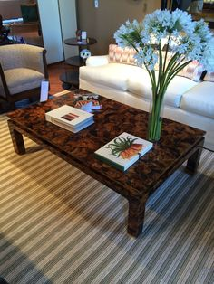 Tiger Penshell Coffee Table - Mecox Gardens