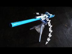 How to make a Paper Gun that Shoots Unlimited Bullets (MG3 Paper Gun) - YouTube