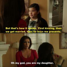 Juanita and Gabrielle Solis #DesperateHousewives