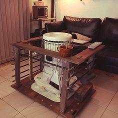 Wood Crafts, Diy And Crafts, Japanese Tea Ceremony, Kitchen Cart, Drafting Desk, Decor Interior Design, Stove, Loft, Furniture