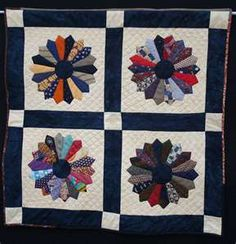 Tie quilt. Would like to make a memory quilt using my dad's tie.