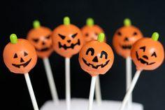 Pumpkin Pops by Bakerella, via Flickr