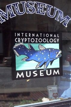 International Cryptozoology Museum,  World's only cryptozoology museum