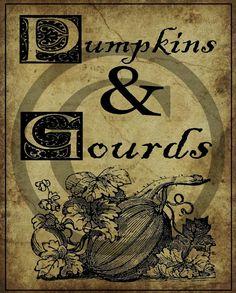 Primitive Old Fashioned Fall Autumn Pumpkins & by Starrmtnprims