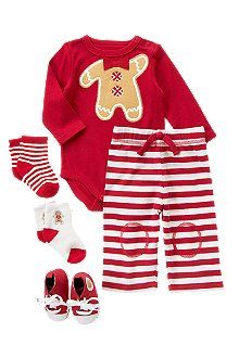 Gingerbread man pj's?