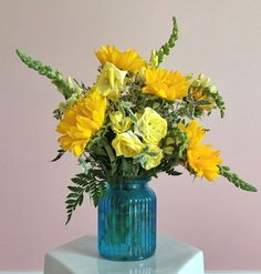 Follow the yellow brick road.. to fresh flowers!
